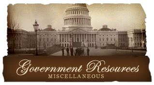 Government Resources - Misc